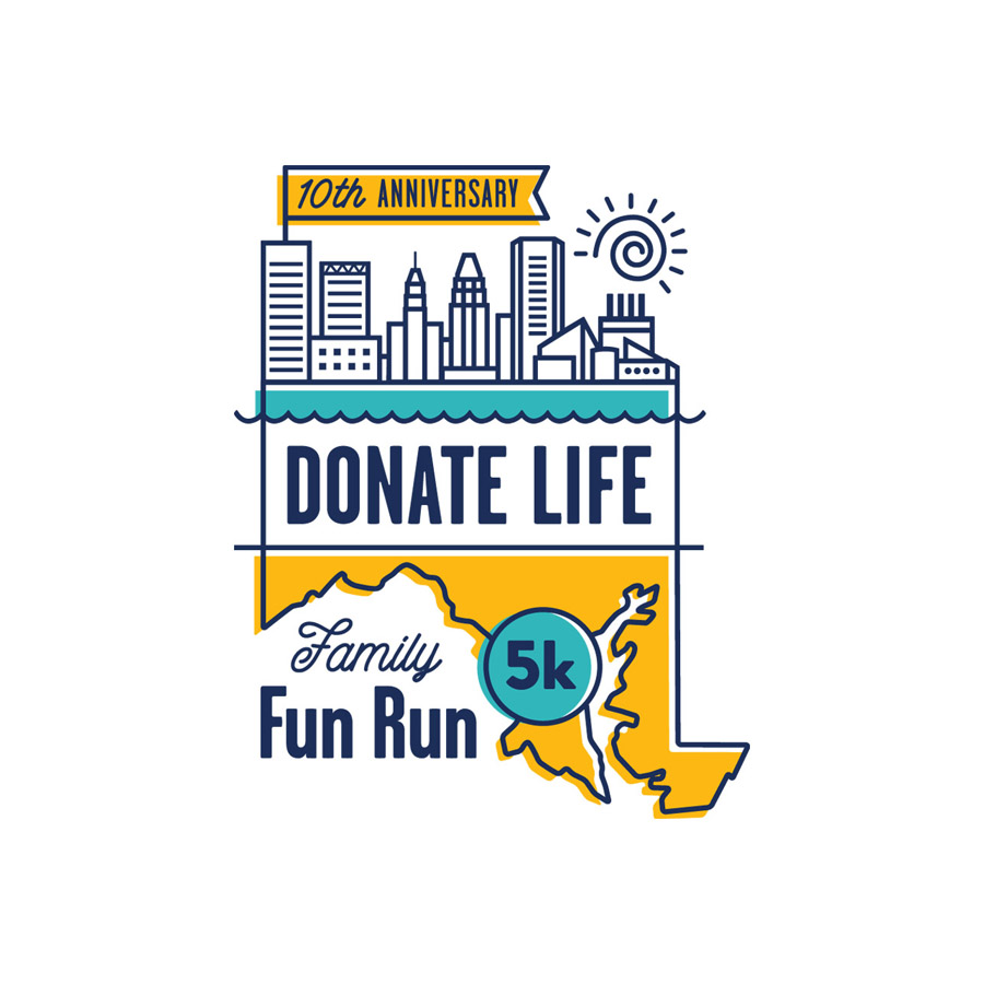 Donate Life Fun Run Logo