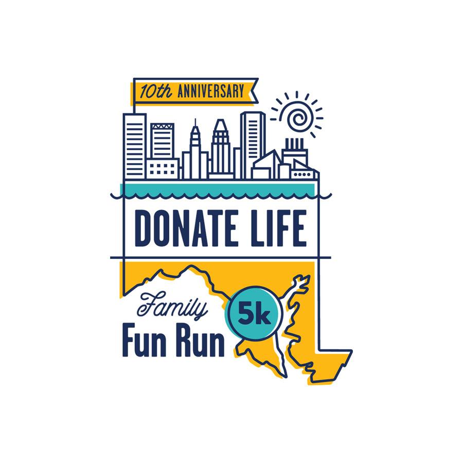 Donate Life Fun Run Logo