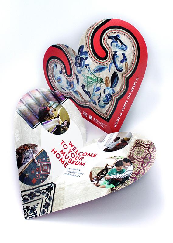Textile Museum mailer