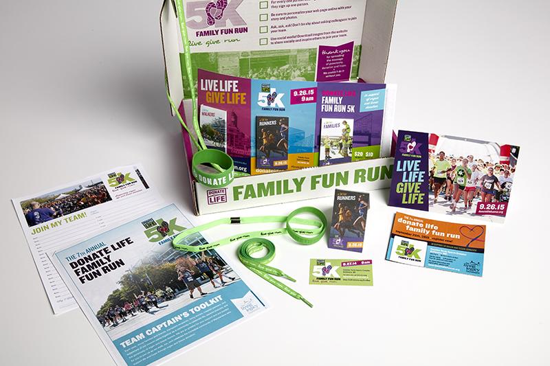 Fun Run materials box