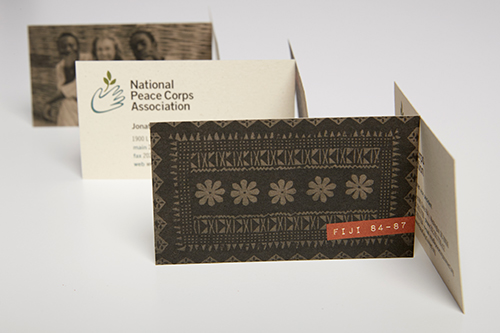 NPCA business cards