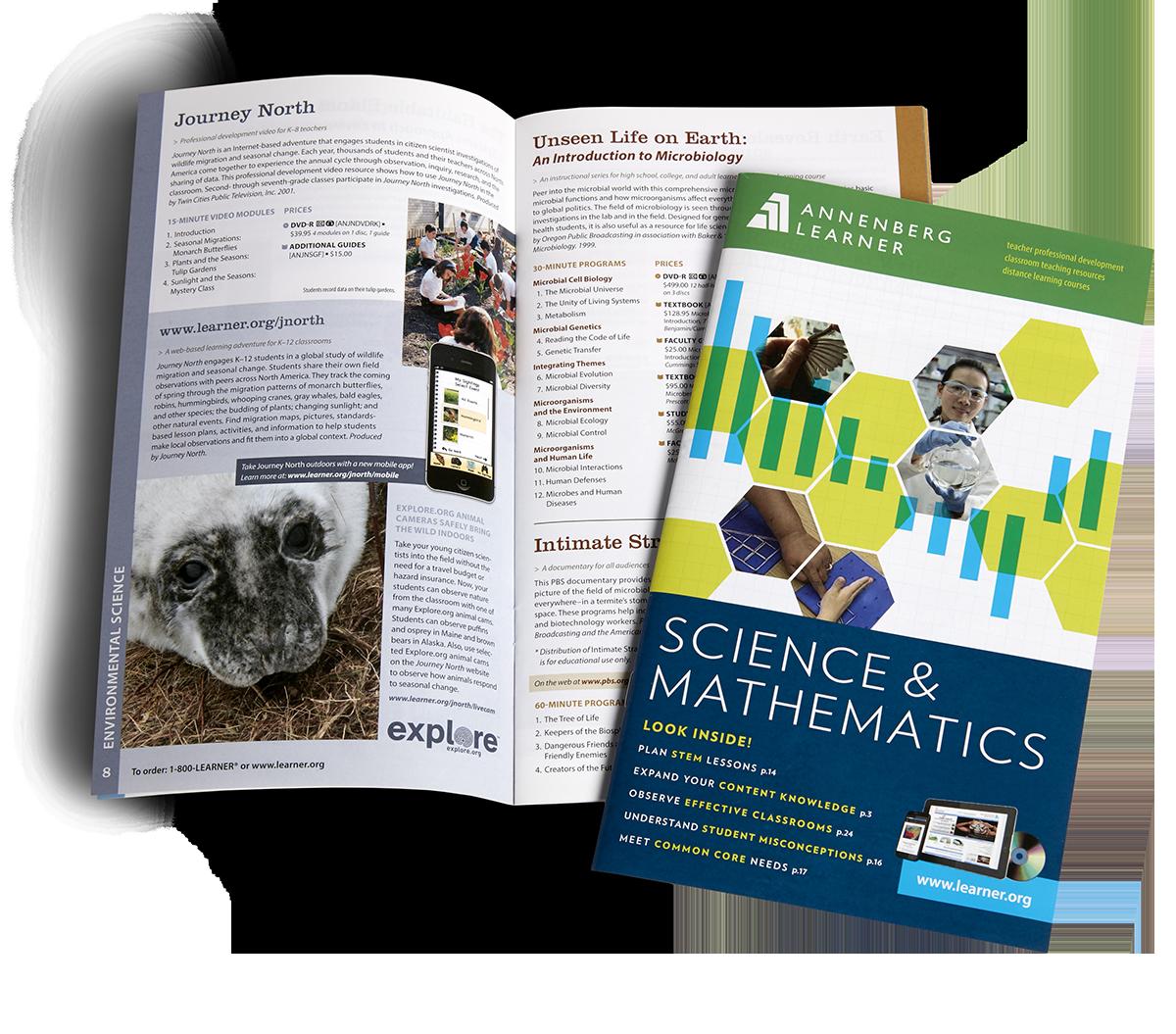 Annenberg Learner catalog