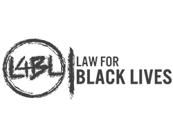 Logo for Law for Black Lives